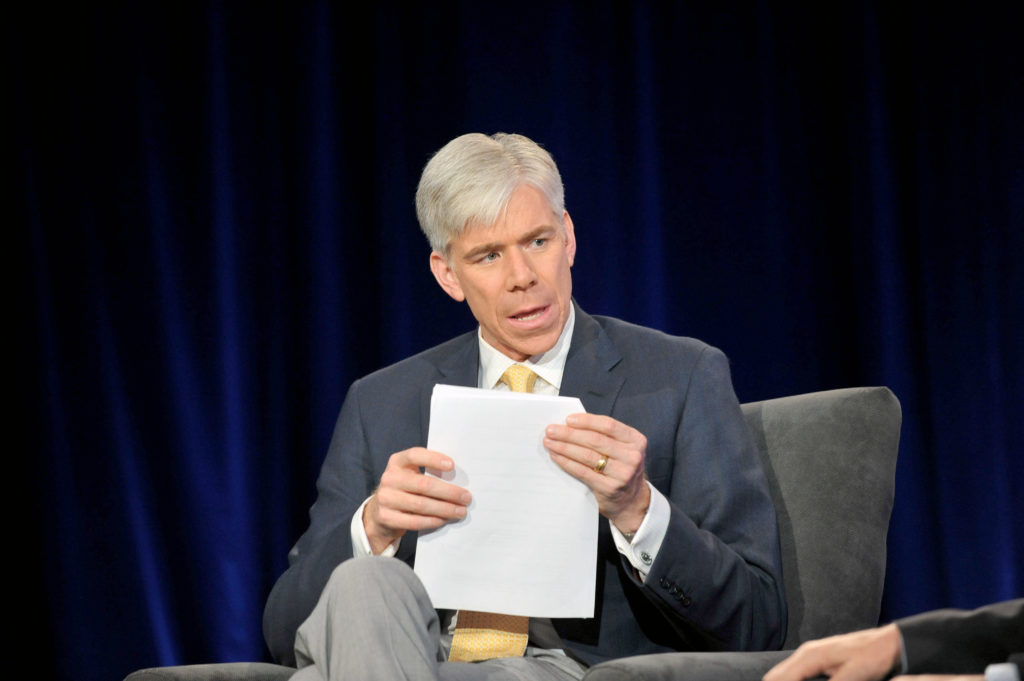 David Gregory attends NBC News Education Nation Job One Panel Discussion at Georgia Aquarium on May 7, 2012 in Atlanta. (Moses Robinson/Getty Images for NBCUniversal