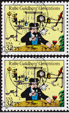 Rube Goldberg is an Adjective