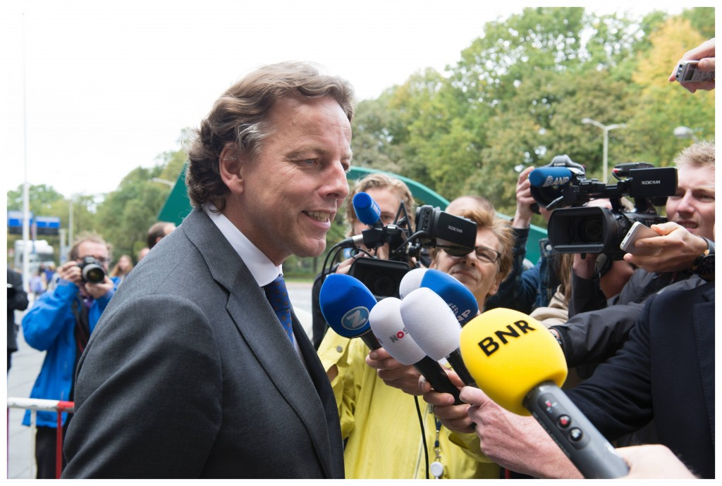 Bert Koenders in The Hague on Oct. 17, 2014 (Courtesy of the Dutch Government)