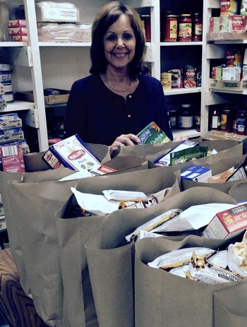 At Thanksgiving time, making a leap to feed the needy