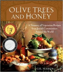 "Gil Marks ""Olive Trees and Honey,"" one of numerous cookbooks he authored, won a James Beard award."