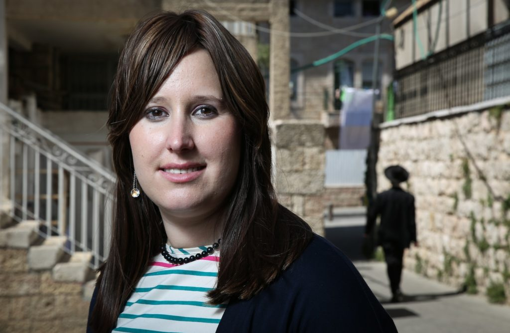 Racheli Ibenhoim is urging women to boycott haredi parties in 2015 Knesset elections unless they include female candidates. (Hadas Parush/Flash 90)