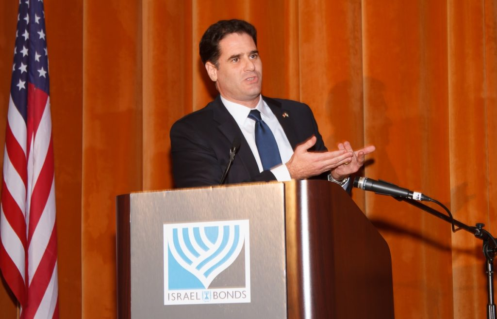 Israeli Ambassador to the United States Ron Dermer defended Prime Minister Benjamin Netanyahu's decision to address Congress on Iran in March. (Embassy of Israel)
