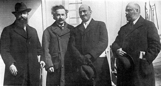 Einstein and Weizmann Take America