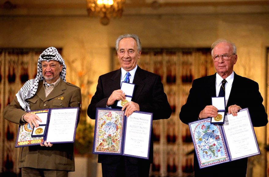 Arafat Peres Rabin Nobel