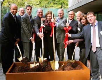 A 2011 groundbreaking ceremony for a $4.4 million renovation of FEGS Tanya Towers residence, an affordable housing site for low-income seniors and individuals with disabilities. (Facebook)