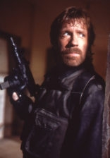 "Chuck Norris on the set of the 1986 film, ""The Delta Force."" (Wikimedia Commons)"