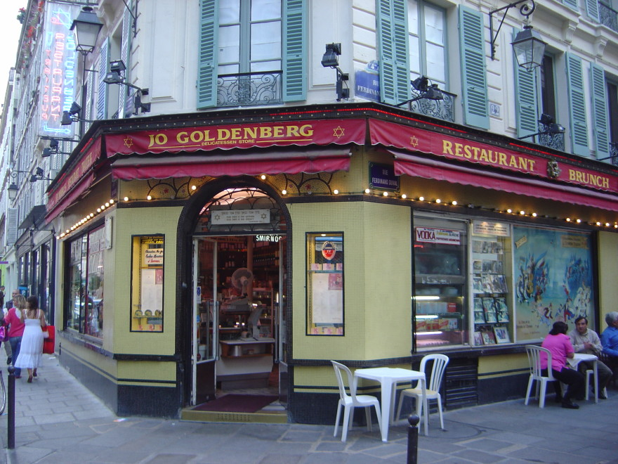 The 1982 attack on Paris' Goldenberg restaurant was the deadliest attack on Jews in that city since World War II. (Wikimedia Commons)