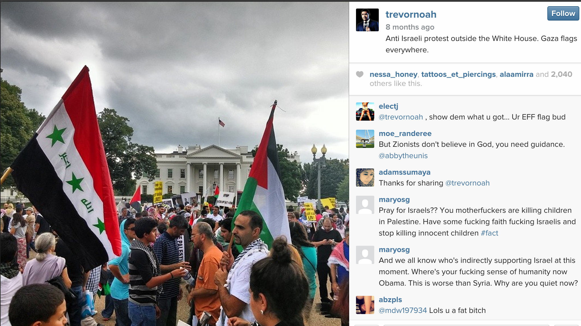What Does Trevor Noah Think About Israel Jewish