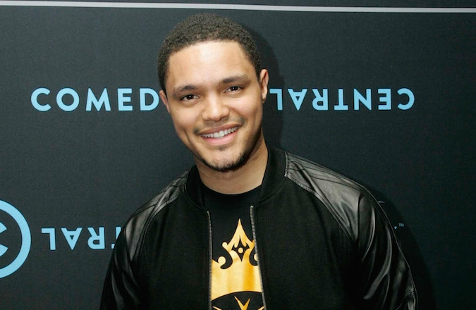 Trevor Noah, shown here in Johannesburg in 2012, has big shoes to fill. (Dominic Barnardt/Gallo Images/Getty Images for MTV)