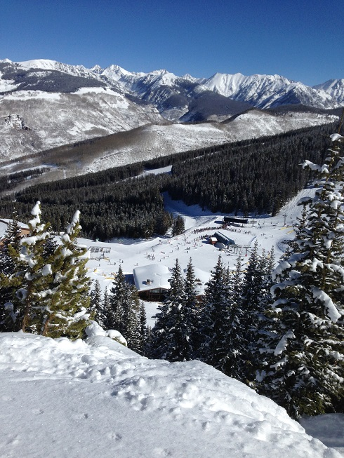 With some 5,300 acres of terrain, Vail is the third-largest ski resort in North America. (Uriel Heilman)