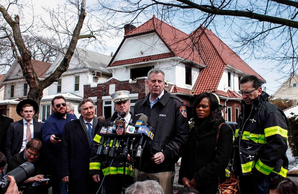 Seven Children From Orthodox Jewish Family Killed In Brooklyn Fire