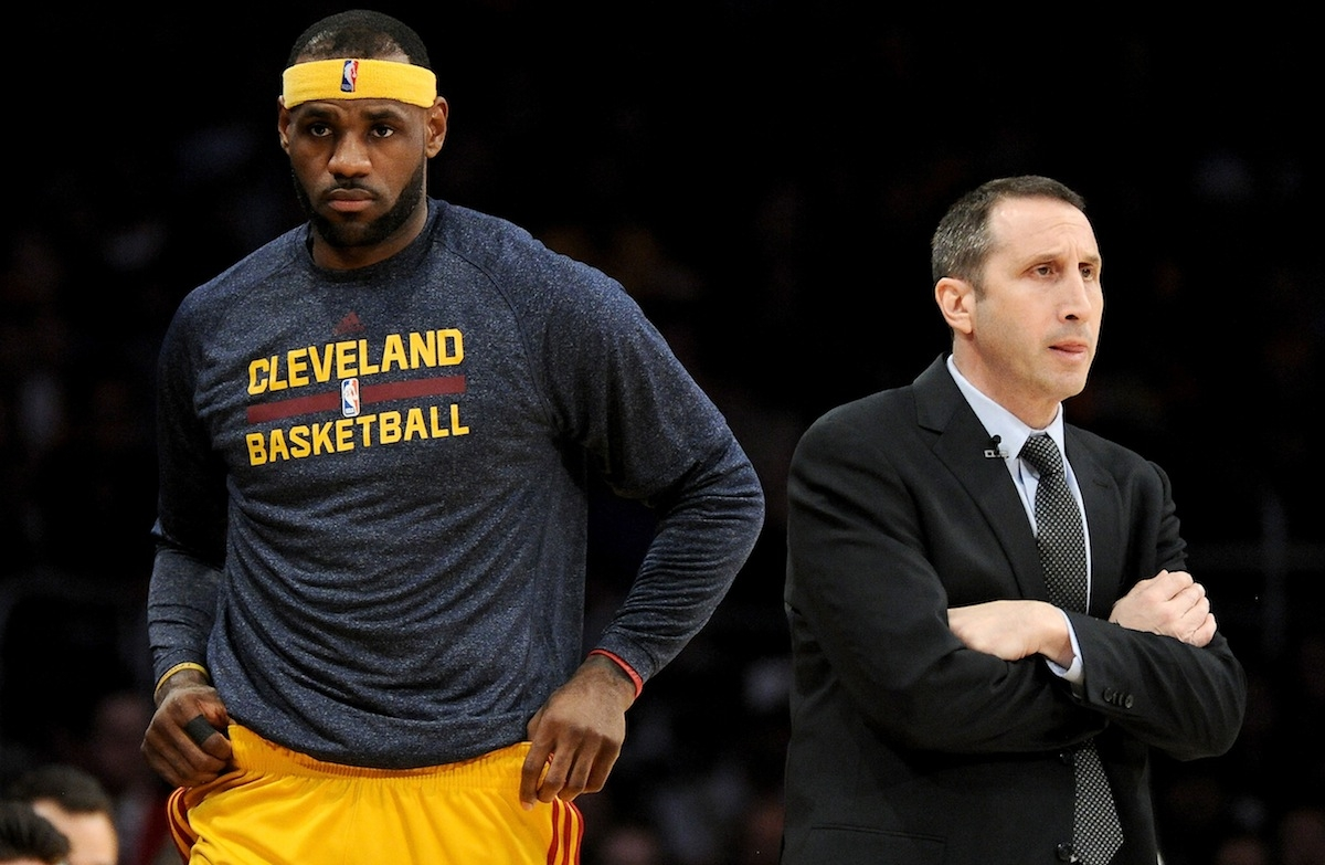 Coach David Blatt and star player LeBron James both say that Blatt has made the needed adjustments in his rookie season guiding the Cleveland Cavaliers. (Harry How/Getty Images)