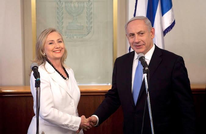 Hillary Clinton Visits Israel