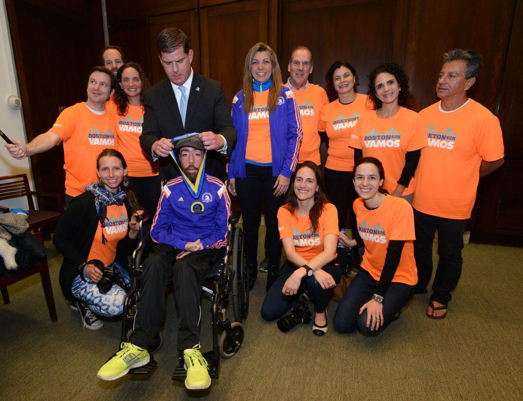 Maickel Melamed Boston Marathon disabilities