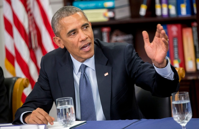 In a meeting with multiple Jewish leaders, President Barack Obama expressed concern over how he is perceived in the Jewish community. (Andrew Harrer-Pool/Getty Images)