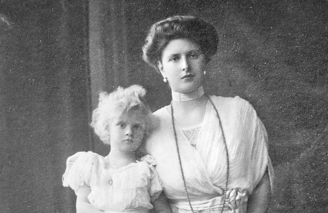 Queen Elizabeth II's mother-in-law,  (Wikimedia Commons)