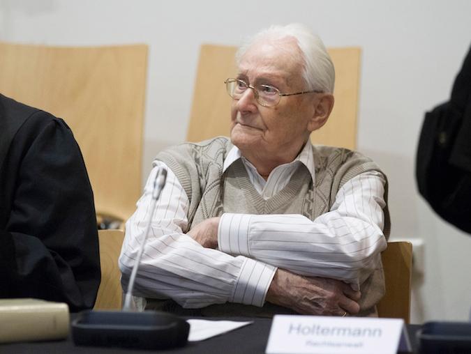 Oskar Groening Auschwitz trial