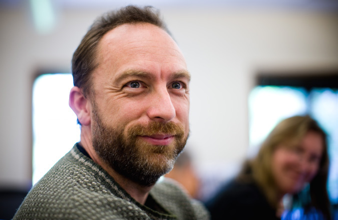 Jimmy Wales (Wikimedia Commons)