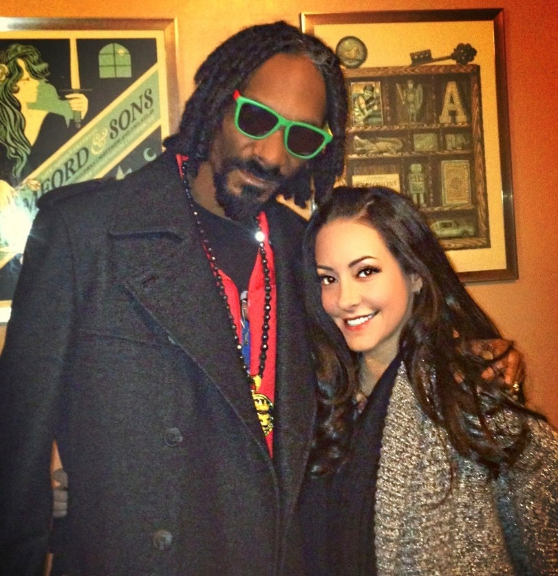 Dina Browner and the rapper formerly known as Snoop Dogg, who first introduced the California native to marijuana.