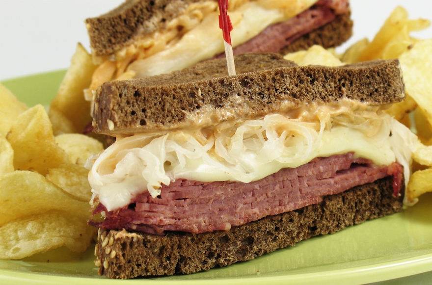 Kosher users of Seamless may now be offered cheese on their pastrami sandwiches. (Shutterstock)