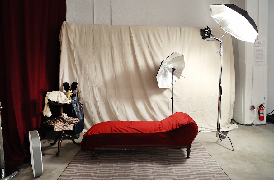 A set from George's risque photo shoot episode. (Monica Schipper/Getty Images for Hulu)