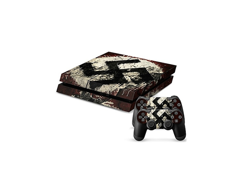 Playstation 4 decals posted on Amazon's website, June 26, 2015