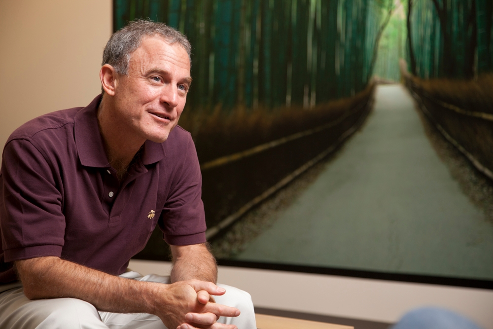 Though he's CEO of a major travel company, Stephen Kaufer says he doesn't really have wanderlust -- but he would like to revisit his favorite destination: Jerusalem.