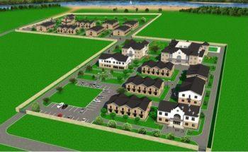An image of the building plan for Anatevka, near Kieve, Ukraine. (Courtesy: Anatevka)