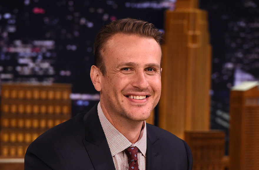 "Jason Segel visiting ""The Tonight Show Starring Jimmy Fallon"" at Rockefeller Center on July 29, 2015, in New York City. (Theo Wargo//Getty Images)"
