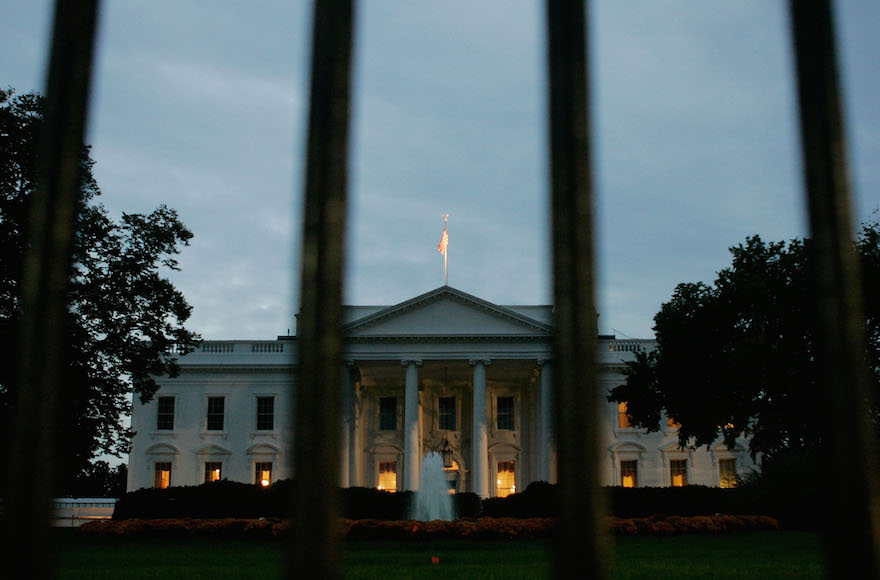 "The White House is said to be ""on fire"" and ready for battle in defending the Iran nuclear plan. (Mark Wilson/Getty Images)"