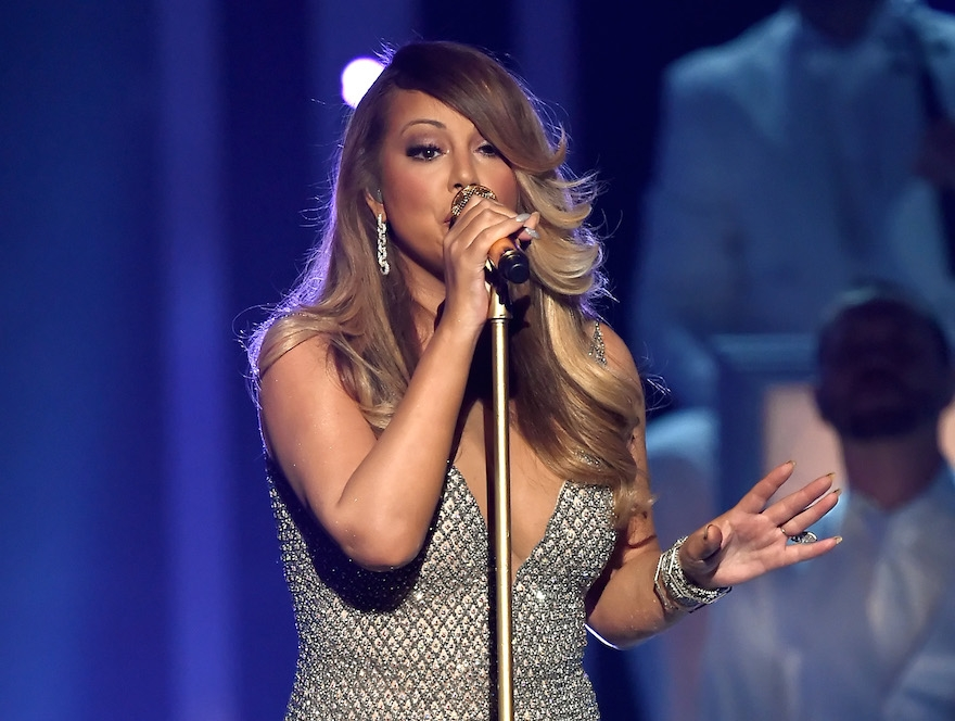 Singer/songwriter Mariah Carey performs onstage during the 2015 Billboard Music Awards on May 17, 2015 in Las Vegas, Nevada. (Ethan Miller/Getty Images)