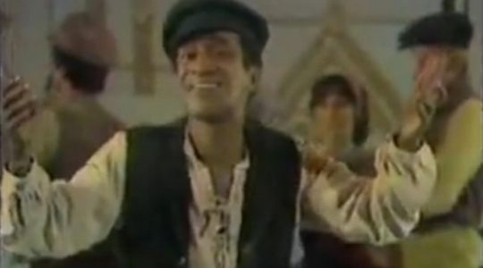 "Sammy Davis, Jr. Sings ""Fiddler"""