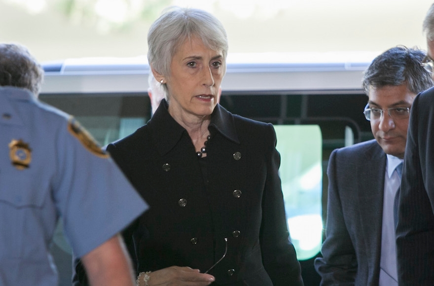 Wendy Sherman was the top U.S. negotiator in the world powers' nuclear talks with Iran. (Eric Bridiers/U.S. Mission Geneva)