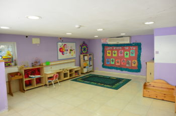 The day care at one of Bat Melech's shelters. (Courtesy of Bat Melech)