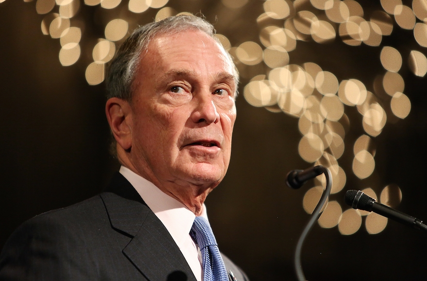 Former Mayor of New York City Michael Bloomberg speaking on February 10, 2015, in New York City (Monica Schipper/Getty Images)
