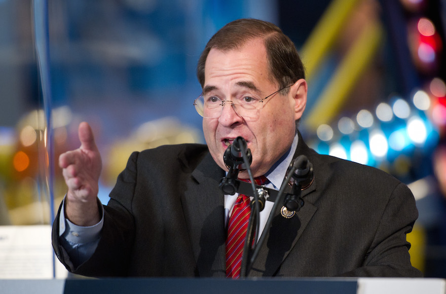 U.S. Rep. Jerrold Nadler (D-NY) speaking at the Intrepid Sea, Air and Space Museum in New York City on Dec. 11, 2011. (Wikimedia Commons)