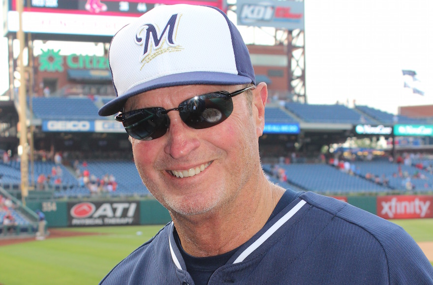 Jerry Narron, a coach for the Milwaukee Brewers and twice a major league manager, will bring his decades of experience to Israel's national team. (Hillel Kuttler)