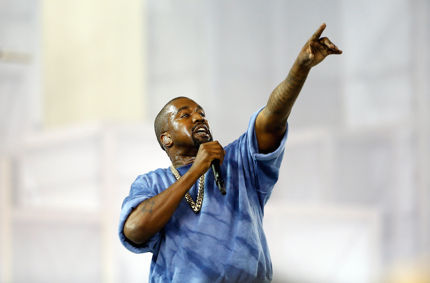 Kanye West performs during the closing ceremony on Day 16 of the Toronto 2015 Pan Am Games on July 26, 2015, in Toronto, Canada. (Ezra Shaw/Getty Images)