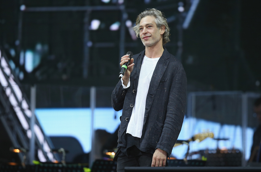 Matisyahu performing at the opening ceremony of the European Maccabi Games on July 28, 2015, in Berlin. (Sean Gallup/Getty Images)