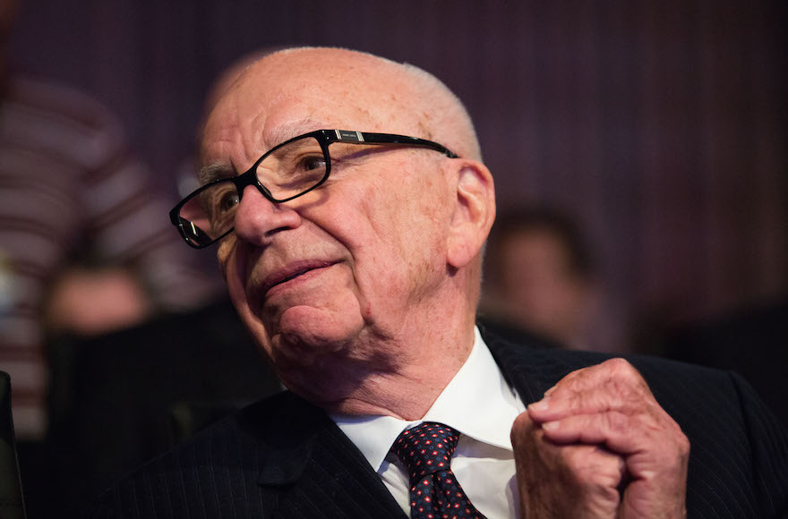 Rupert Murdoch tweets support for Bloomberg 2016 candidacy