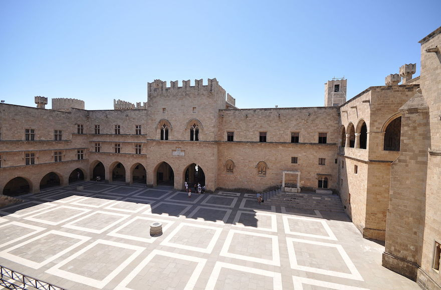 Palace of the Grand Master of the Knights of Rhodes (Wikimedia Commons)