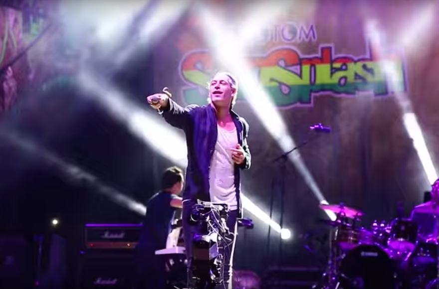 Matisyahu performing at the Rototom Festival in Benicassim, Spain on August 22, 2015. (YouTube)
