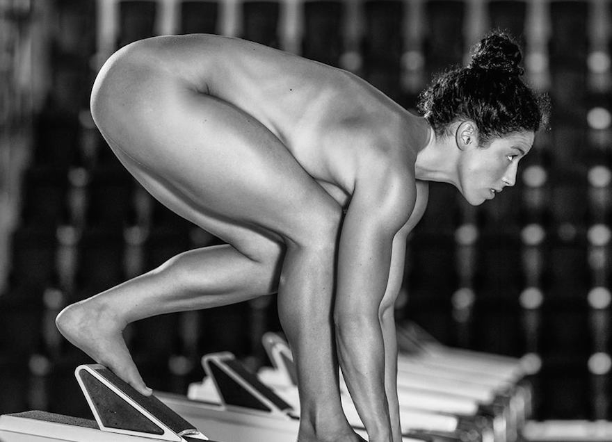 top nude female atheletes