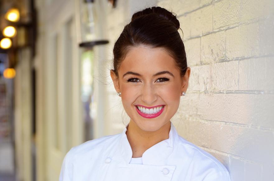 Chef Chloe Coscarelli, a winner of 'Cupcake Wars,' opened a hip new vegan eatery in Manhattan.