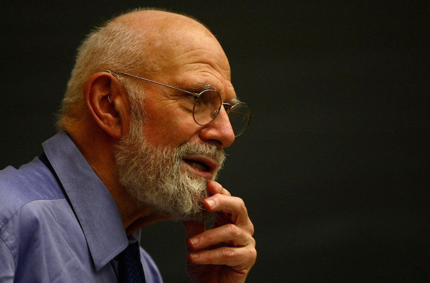 Neurologist Dr. Oliver Sacks speaking at Columbia University, June 3, 2009 in New York City. (Chris McGrath/Getty Images)