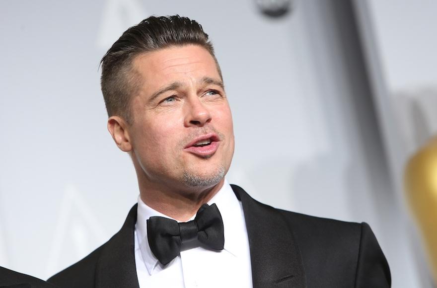 Brad Pitt at the 86th Academy Awards in Los Angeles on March 2, 2014. (Joe Seer/Shutterstock)