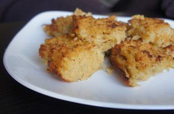 Potato kugel (Shannon Sarna)