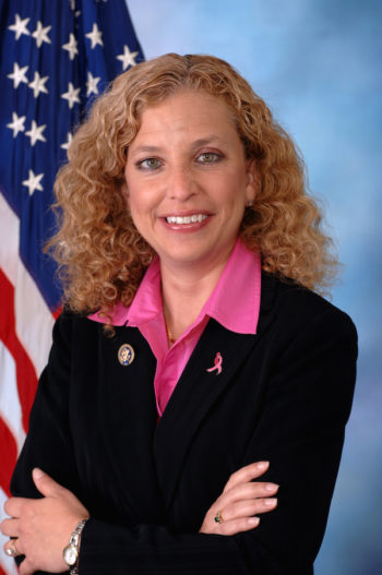 Rep. Debbie Wasserman Schultz, a breast cancer survivor, is advocating for mammograms for women in their 40s. (Wikimedia Commons)