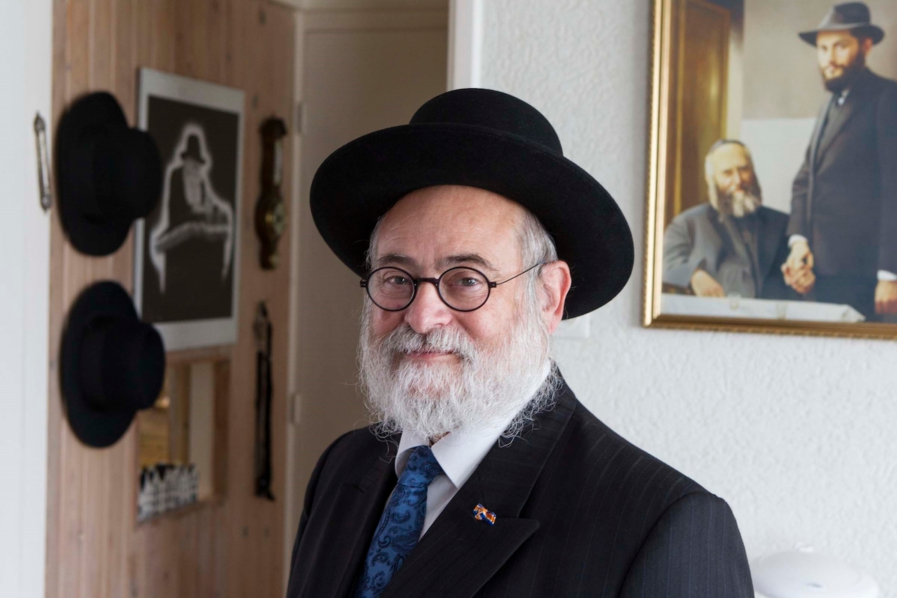 Dutch Chief Rabbi Binyomin Jacobs opposes the housing of migrants from the Middle East in a heavily Jewish area of Amsterdam. (RD/A.Dommerholt)